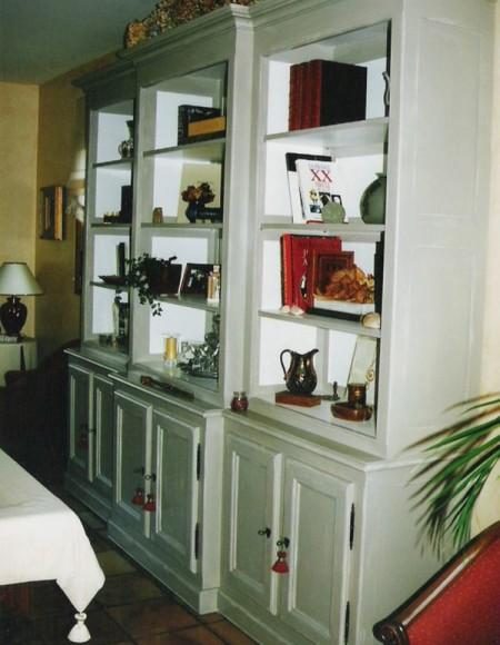 biblioth que blanche gilles martel. Black Bedroom Furniture Sets. Home Design Ideas
