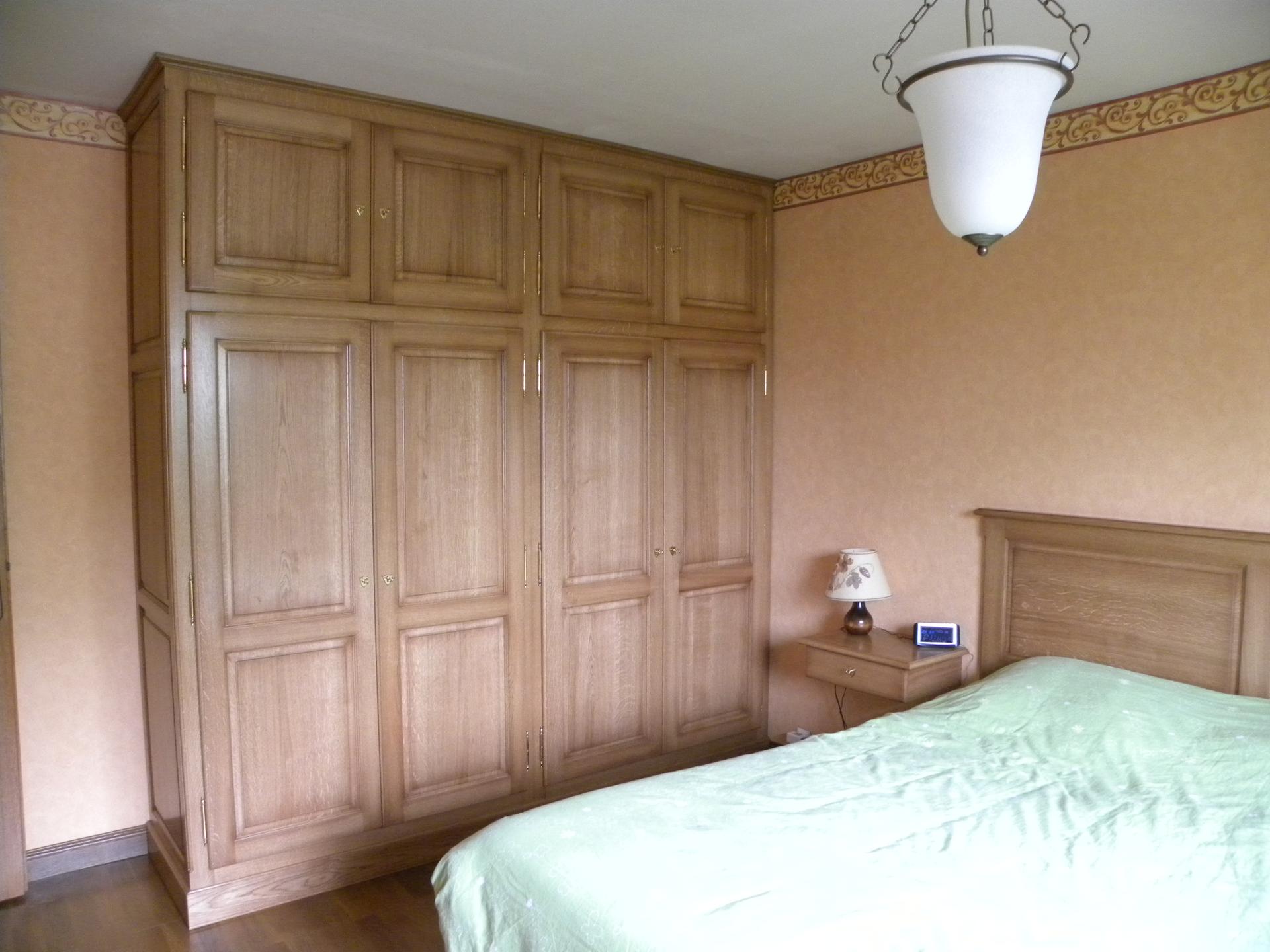 Cuisine Blanche Ixina : Chambre Rustique Chene  Chambre à coucher chêne rustique  Gilles