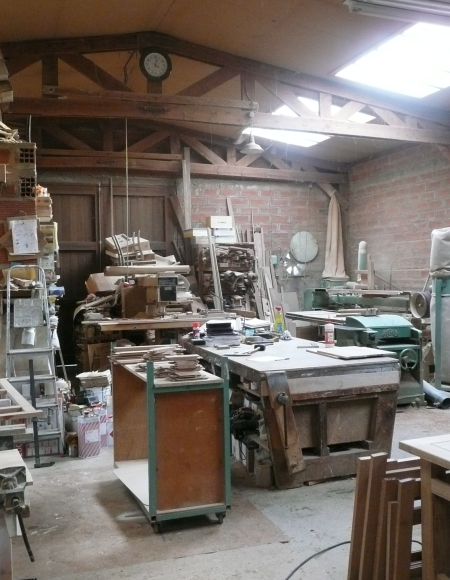 cuisines martel-l'atelier Gilles Martel-Cuisiniste
