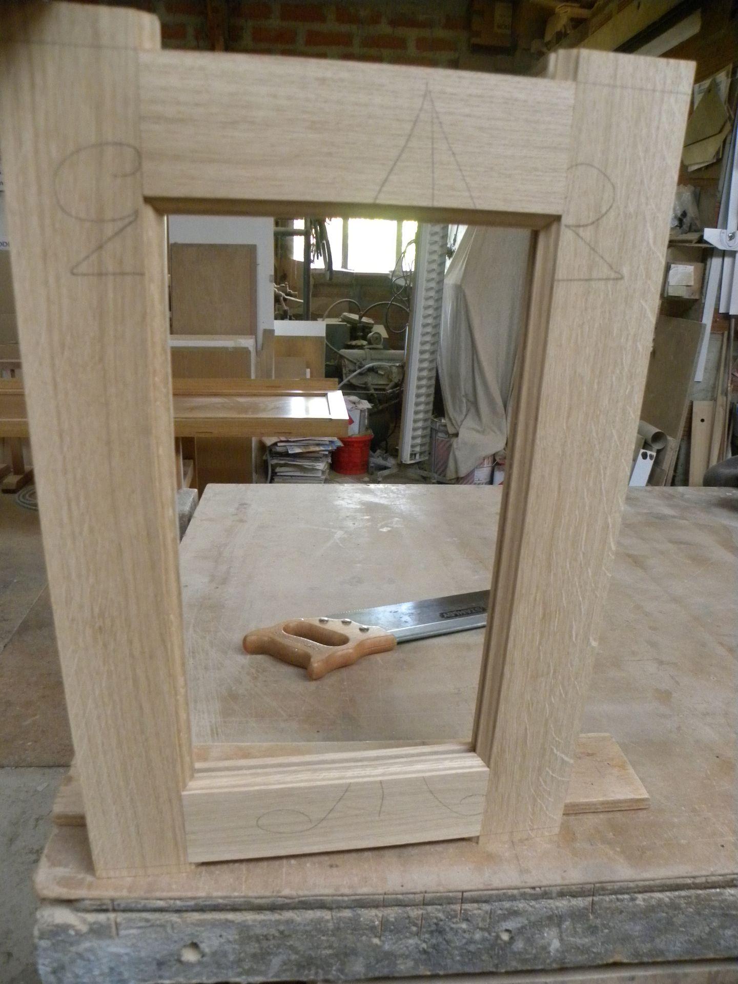 Les tapes de fabrication d 39 une fa ade de cuisine gilles martel - Changer les facades d une cuisine ...