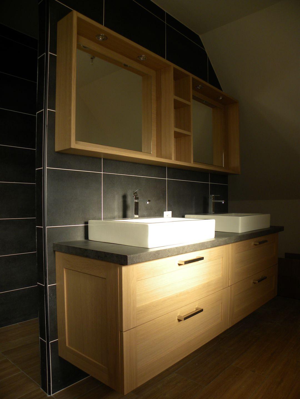 Salle de bains moderne - Photo de salle de bain moderne ...