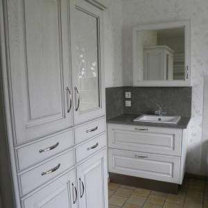 cuisines martel-salle de bains patine grise