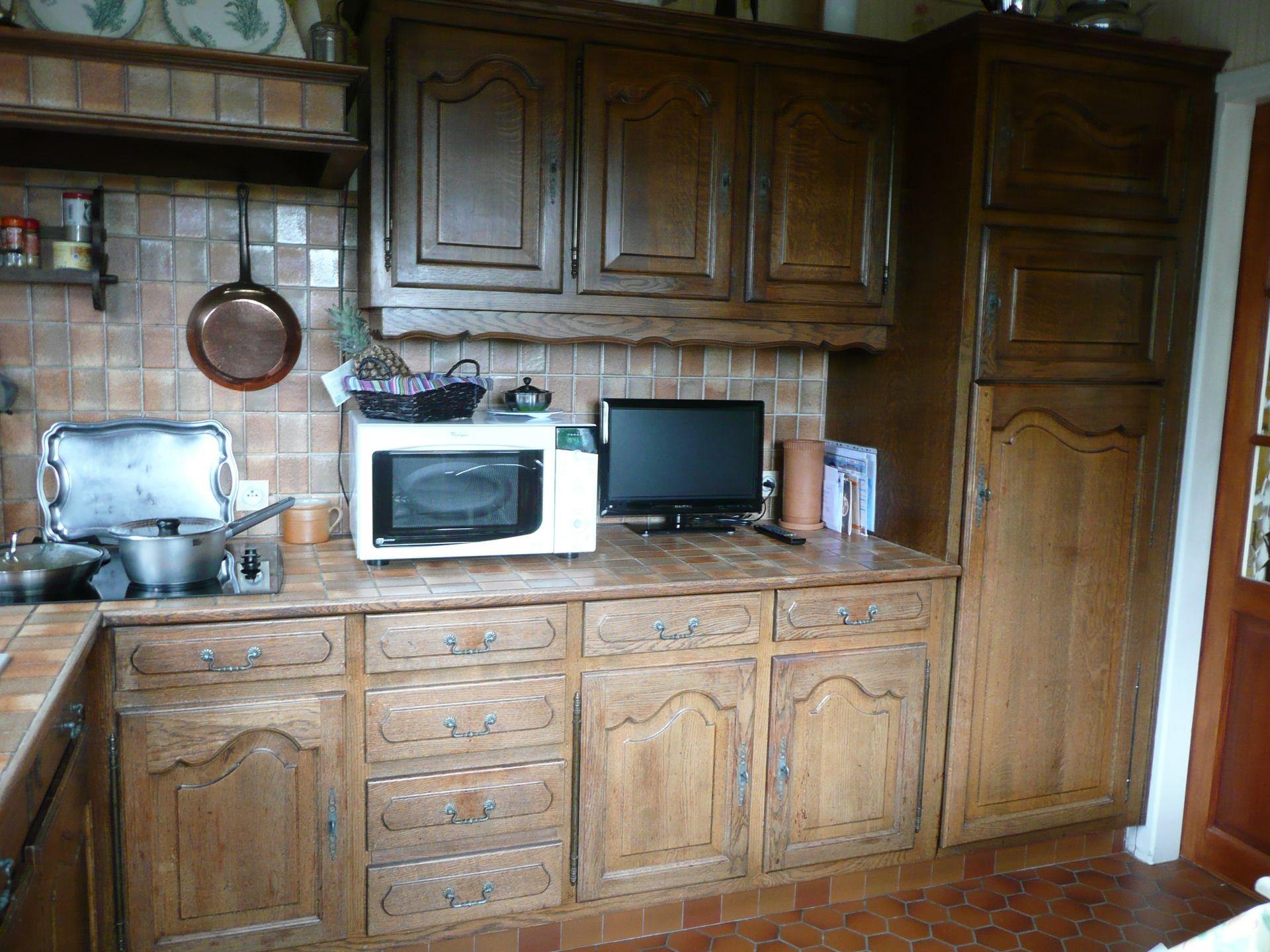 cuisine champagne ocre patine ch ne fonc gilles martel. Black Bedroom Furniture Sets. Home Design Ideas