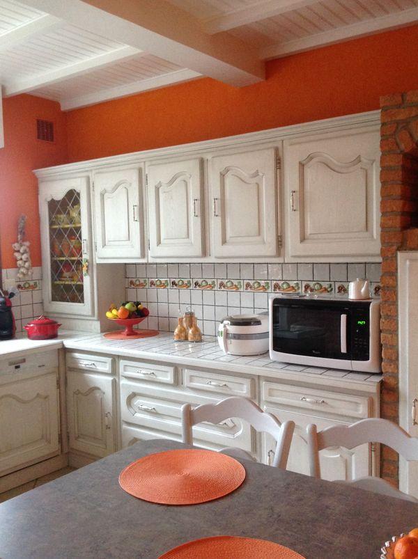 cuisine blanc cass patine grise gilles martel. Black Bedroom Furniture Sets. Home Design Ideas