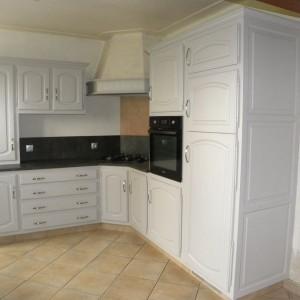 R novation de cuisine et salle de bains gilles martel for Cuisine gris clair et gris fonce