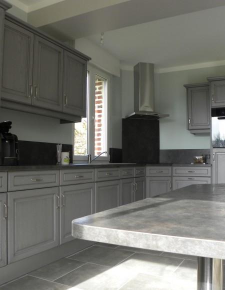 cuisine gris fonc233 patine grise gilles martel