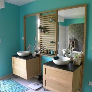 cuisines martel-salle de bain chêne naturel