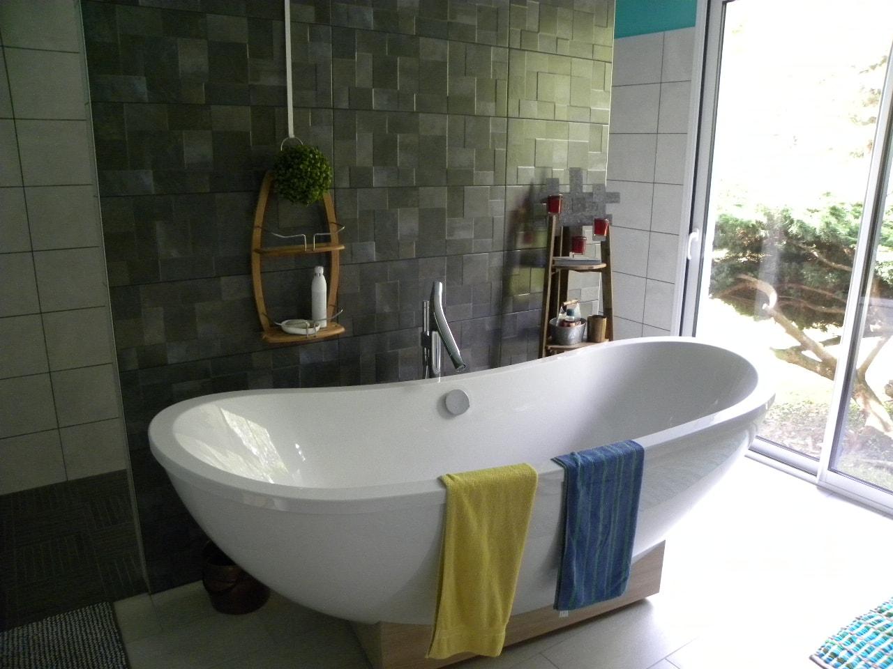 salle de bains ch ne naturel gilles martel. Black Bedroom Furniture Sets. Home Design Ideas